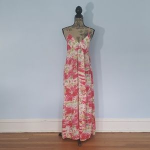Target Mossimo Pink Summer Maxi Dress